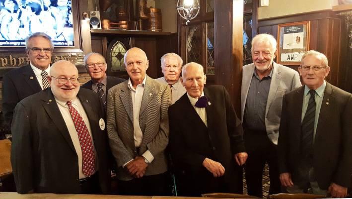 Founding Drury Rotary Club members celebrate 30 years of