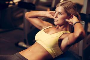 If you want abs, you're going to have to work for them.