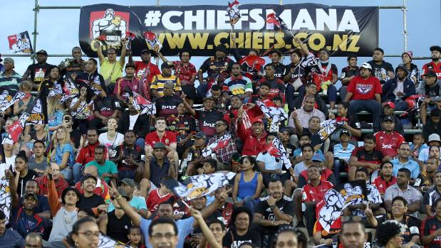 The Chiefs were well supported in their two matches in Fiji, but they aren't planning on a return there next year.