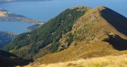 A Christchurch woman was found on Ben Lomond, near Queenstown, about 12am on Friday.