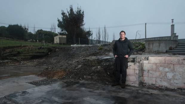 Kieran Grace's home was burning down about the same time the Christchurch City Council was requesting more information ...