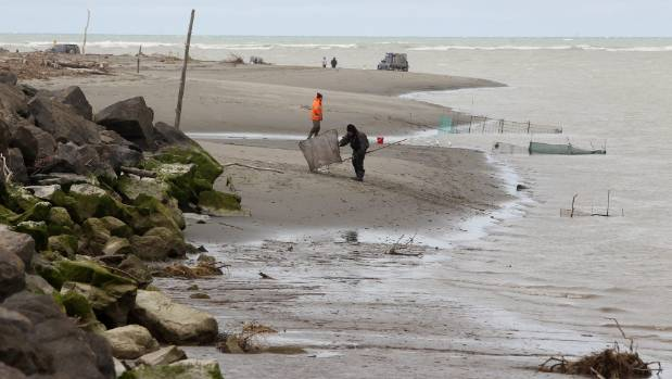 Helen Wood died at Kairaki Beach, in North Canterbury, on Friday night. The beach is popular with fishers and ...