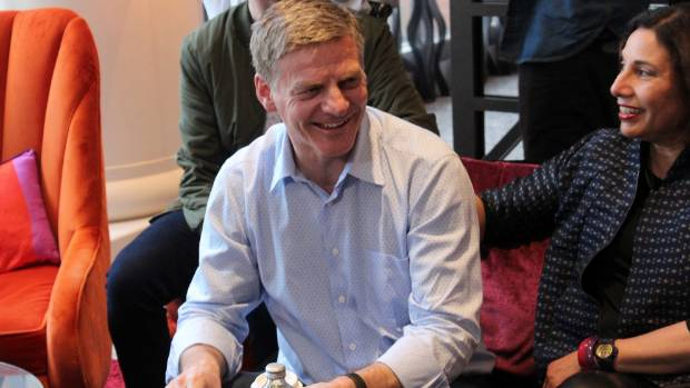 Prime Minister Bill English spent election day with his wife Mary at Auckland's Pullman hotel.