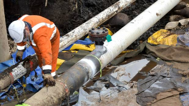 Fuel trucks remain on the road despite pipe fix
