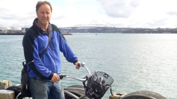 Cycling advocate and Matakana Coast Trail Trust member Bevan Woodward argued for a public trail in the Environment Court.
