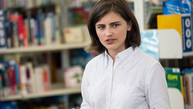 Chloe Swarbrick said said she wasn't sure what New Zealanders would think of her entering Parliament so young.