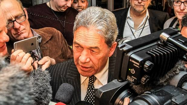 NZ First Party leader Winston Peters: 'Too early to call Northland'