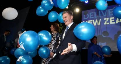 Bill English has well and truly exorcised the ghost of his 2002 defeat, writes Stacey Kirk.
