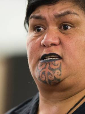 Nanaia Mahuta took at swipe at the Maori Party after she crushed her opponent in the Hauraki-Waikato electorate.