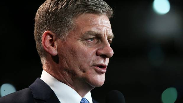Bill English said he and James Shaw would listen to each other if one of them rang - but made no further promises.