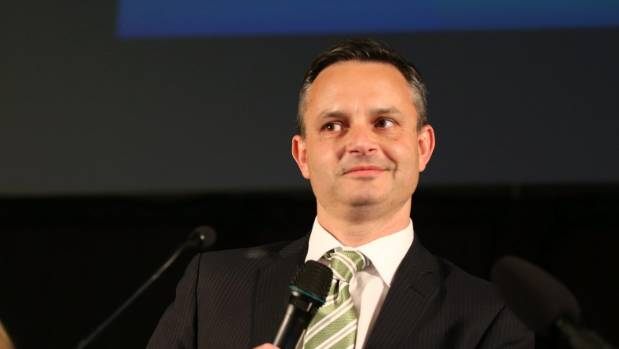 Would Green Party leader James Shaw take heed of Mark Richardson's advice?