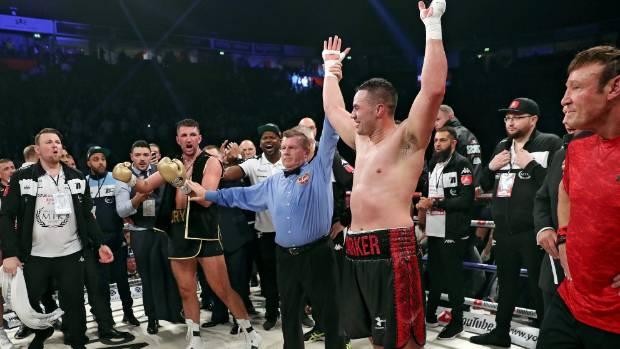 Joseph Parker beats Hughie Fury to retain WBO world heavyweight title