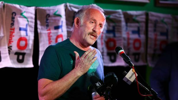 """TOP leader Gareth Morgan says it is a """"tall order"""" for a new party to win 5 per cent support from scratch."""