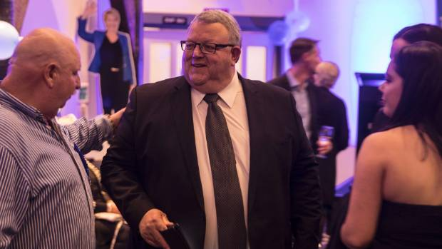 Gerry Brownlee comfortably held his Ilam seat on election night.