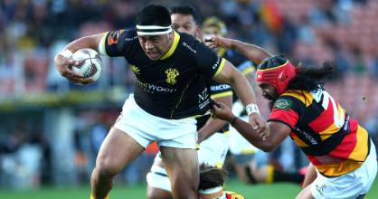 Wellington hooker Asafo Aumua had another strong game against Waikato on Saturday.