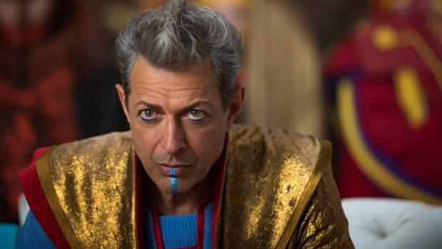Jeff Goldblum is The Grandmaster.