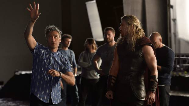 Taika Waititi not only directs, he also has a key role to play in front of the cameras in Thor: Ragnarok.