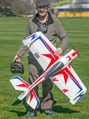 South Canterbury Model Aero Club vice-president Robbie Hellewell.