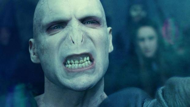 """Finnes is best known for his role in 8 Harry Potter films as """"he who must not be named"""" - Tthe ultimate big bad, Voldemort."""