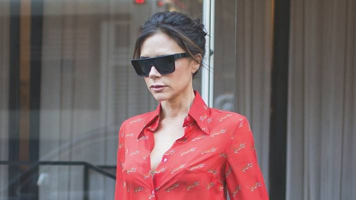 a96940855491 What she wore: How to copy Victoria Beckham's simple but chic style ...