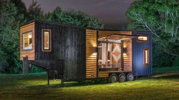 The Escher is the new tiny house developed by New Frontier Tiny Homes CEO and founder David Latimer.