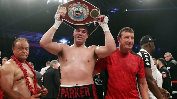 Anthony Joshua set for showdown with Joseph Parker