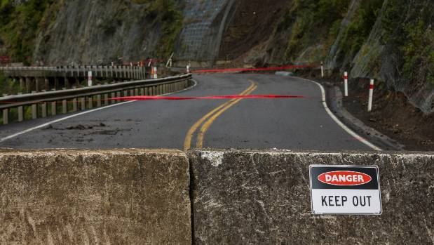 The Manawatū Gorge was closed indefinitely in June. — Photo: David Unwin/Fairfax NZ.