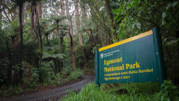 Lucy's Gully is part of the Egmont National Park.