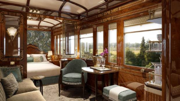 Orient Express: Old style glamour.