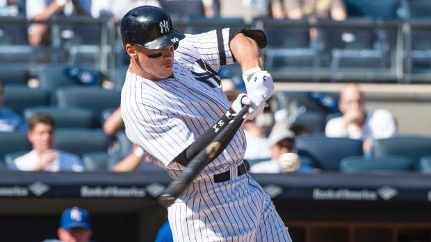Aaron Judge sets rookie home run record