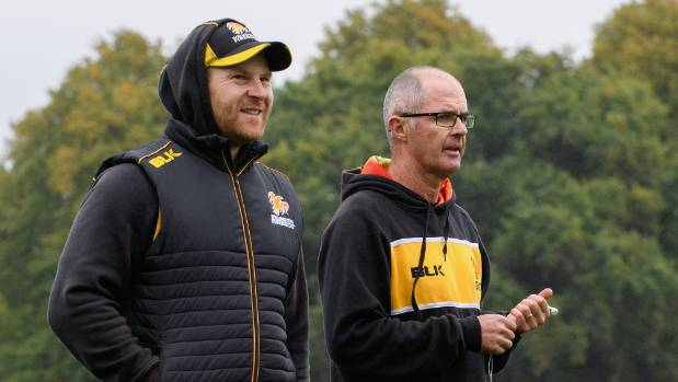 Assistant coach Glenn Pocknall, left, and head coach Bruce Edgar will continue their partnership at the Firebirds till ...