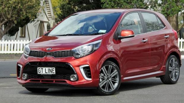 Third-generation Picanto city-car has gone big on design detail. This is the even-more-dressy GT-Line model.