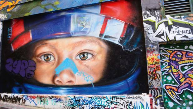 Melbourne's street art is a big draw card.