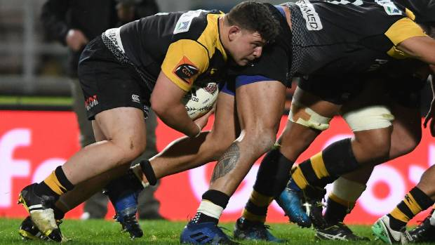 Ricky Riccitelli had his best match for Taranaki in their win over Hawke's Bay.