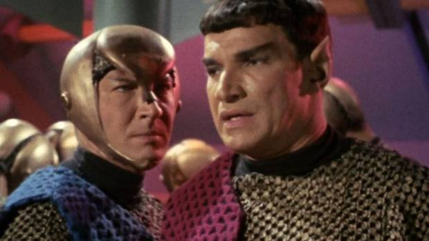 The unnamed Romulan captain from Balance of Terror, played by Mark Lenard.