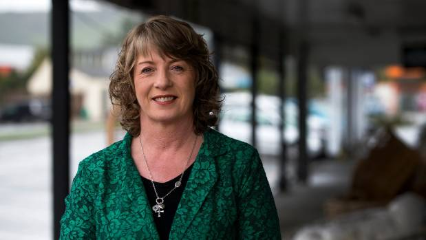 Tararua District mayor Tracey Collis is pushing for an alternative route to the Manawatū Gorge to go through Woodville.