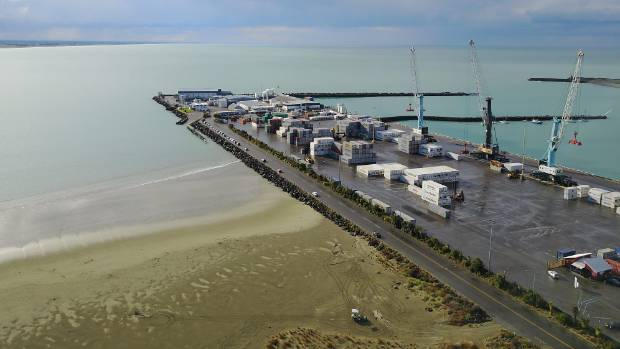 Gower said the Timaru Container Terminal had also handled a record number of twenty foot equivalent units (TEUs) over ...