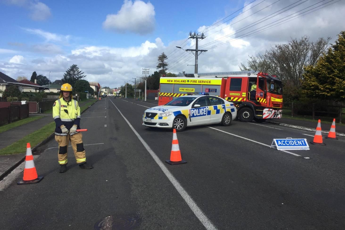 Girl cyclist, 7, dead in crash in Inglewood   Stuff co nz