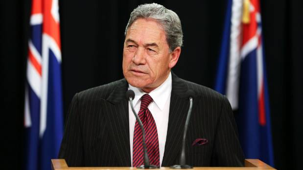 NZ First leader Winston Peters has decided to go with Labour.