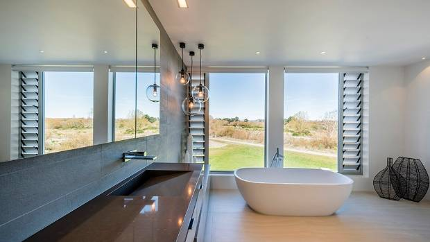The bathroom is a private zone in which to relax and linger. Beautiful Christchurch bathroom made for relaxing   Stuff co nz