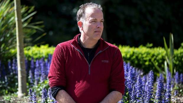Massey University's promoter of the stand alone horticulture degree,Huub Kerckhoffs a senior lecturer in horticulture ...