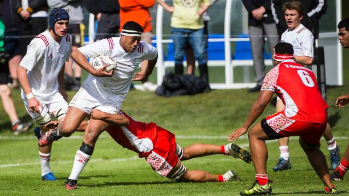 New Zealand Schools Barbarians handle tough test from Tongan