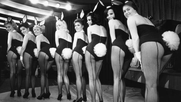 The Playboy Bunny image reflected Hugh Hefner's view of the feminine ideal: as non-threatening and empty-headed as a rabbit.