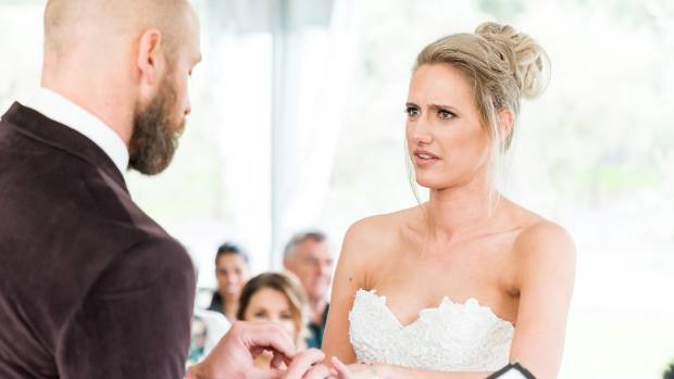 Married at First Sight New Zealand Luke and Lacey.