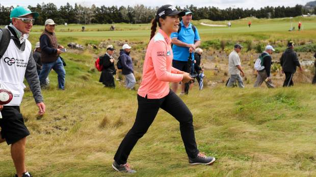 Hole in one as Belen Mozo takes big lead at NZ Open