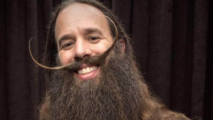 Mens Man Stuff Tidy Whiskers Barber Kit Beard Moustache Cleansing