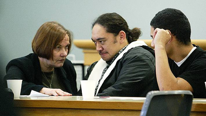Philip Kaukasi and Dyhrberg in the murder of Michael Choy.