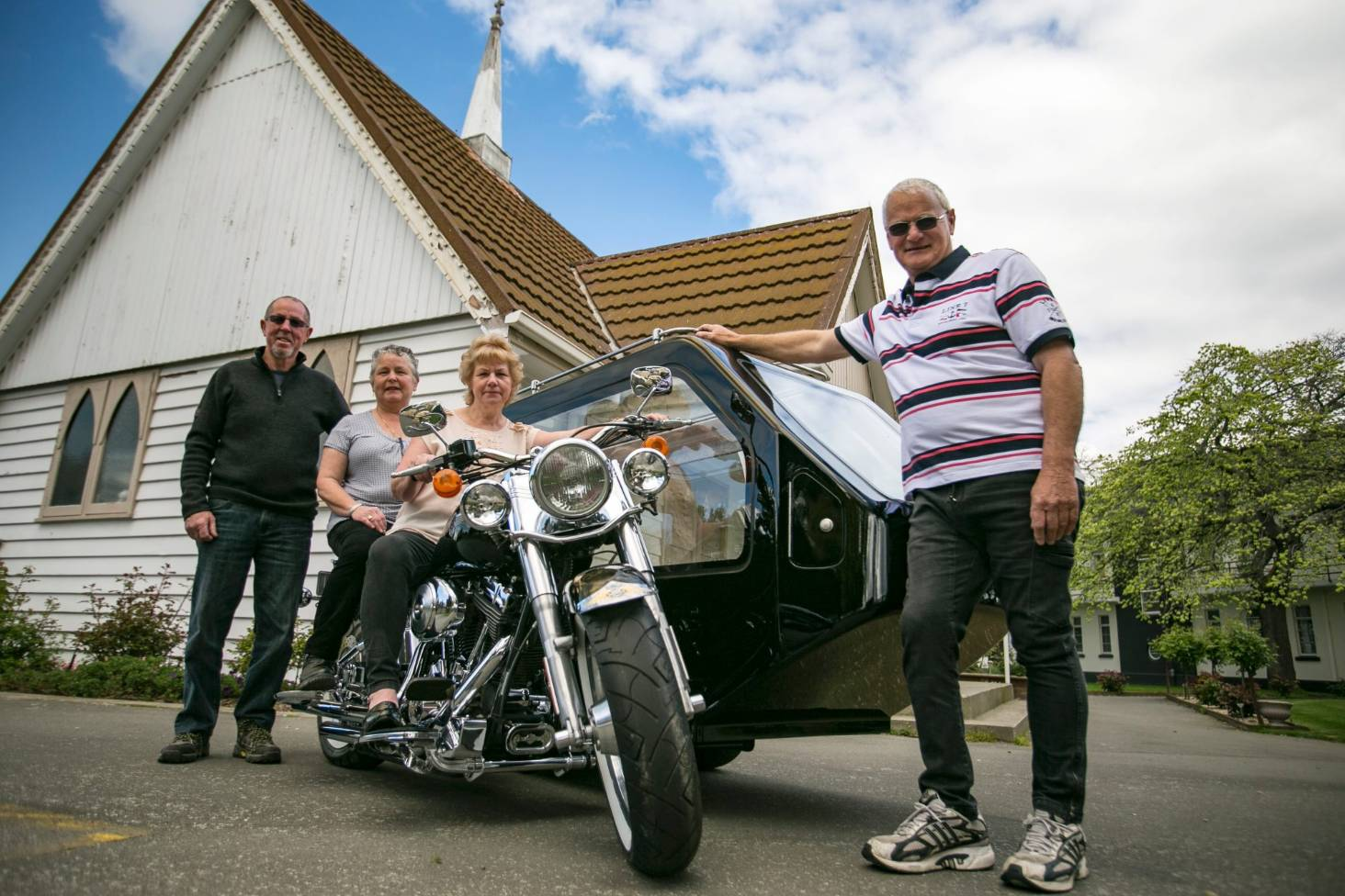 Bikers Have Last Ride In Style With Canterbury Motorcycle Hearses