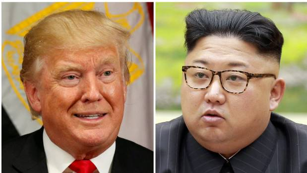 President Donald Trump and North Korean leader Kim Jong Un.