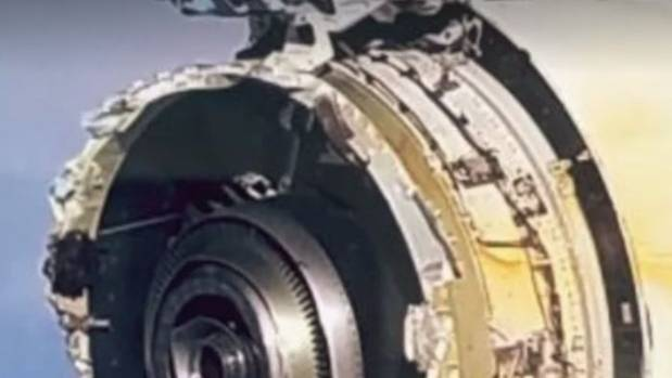 Air France A380 suffers serious engine damage after 'tremendous bang'